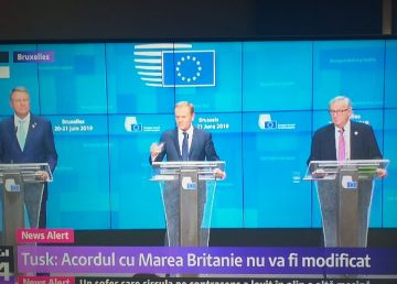 Tusk l-a felicitat pe Iohannis pentru succesul președinției Consiliului UE