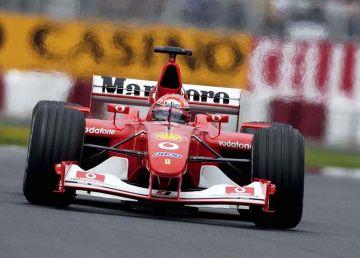 Monopostul Ferrari F 2002, pilotat de Michael Schumacher, licitat în toamnă în Dubai