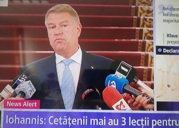 """Klaus Iohannis: """"Cu votul pentru Tăriceanu, PSD și ALDE și-au dat arama pe față. Jalnic, jalnic!"""""""