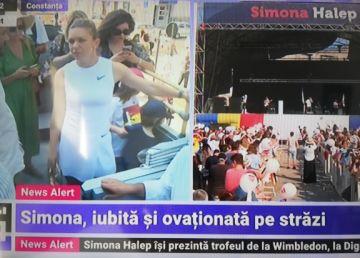 """UPDATE. Simona, tratată ca un superstar pe străzile din Constanţa. """"Luptăm şi câştigăm"""""""