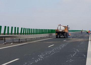 Trafic restricţionat pe Autostrada Bucureşti-Constanţa pe sensul către litoral