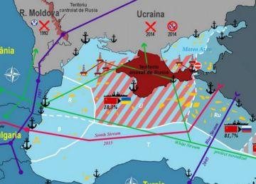 """Marea Neagră, lac rusesc? Kremlinul pregăteşte planul strategic """"Ora Z"""""""