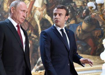 Macron îl primește luni pe Putin la Bregancon. Franța, mediator între Kremlin și G7?