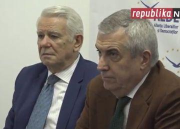 """Râsu' Plânsu'. """"Moşieru"""" Tăriceanu, ameninţat cu tribunalul de """"diplomatul sub acoperire"""" Meleşcanu"""
