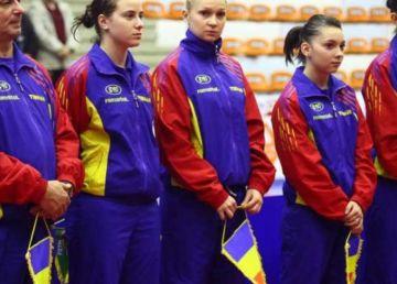 Echipa feminină a României de tenis de masă, calificată în finala Campionatelor Europene de la Nantes