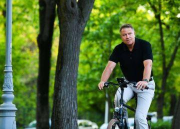 Iohannis, pe bicicletă de Ziua Mondială fără maşini