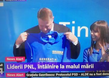 """UPDATE. Iohannis, la şcoala de vară a TNL: """"România normală este proiectul unei întregi generaţii!"""""""