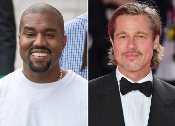 """VIDEO. Brad Pitt se alătură vedetelor care frecventează """"biserica"""" fondată de rapperul Kanye West"""