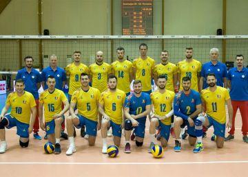 Naţionala de volei masculin a României, a treia înfrângere la Montpellier