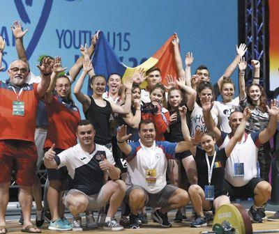 31 de sportivi, în lotul României de la Campionatele Europene de Haltere pentru juniori şi tineret