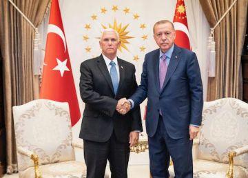 Pence l-a convins pe Erdogan să suspende ofensiva militară turcă din Siria. Economia Turciei, mai importantă decât războiul?