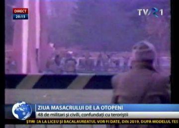 VIDEO. 30 de ani de la Revoluţie. Psihoza teroriştilor şi masacrul de la Otopeni. 23 decembrie 1989