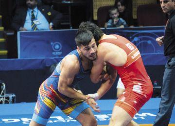Campionatele Europene de Lupte de la Roma. Okhlopkov a câștigat medalia de bronz pentru România la categoria 61 kg