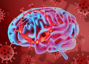 """STUDIU. Coronavirusul afectează și activitatea cerebrală. """"Furtuna de citokine"""" provoacă  inflamarea creierului"""