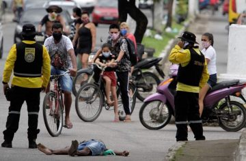 Brazilia, al treilea focar al lumii cu COVID-19. 254.220 de persoane, infectate