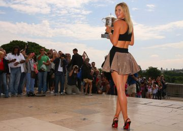 Maria Şarapova s-a reinventat după retragerea din circuit
