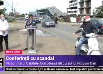 """UPDATE. Conferinţă de presă cu scântei în Prelungirea Ghencea. Orban: """"Eu la asemenea mitocănie şi bădărănie din partea PSD nu m-am aşteptat"""""""