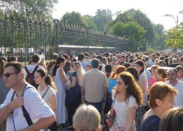 Peste 3300 de candidaţi susţin admiterea la Universitatea de Medicină din Bucureşti. Examenul are loc la Romexpo în condiţii speciale