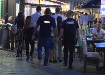 Amenzi în valoare de 200.000 lei, aplicate de poliţişti în weekend în Capitală pentru nerespectarea regulilor