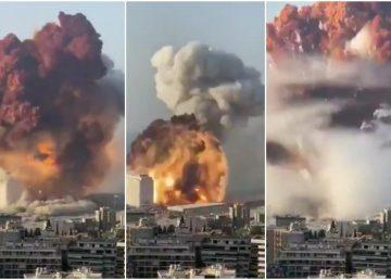 "FOTO. VIDEO. Explozii la Beirut. Iohannis: ""Sincere condoleanțe familiilor victimelor"""