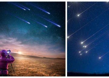 Perseide 2020. Când are loc ploaia de meteori deasupra României