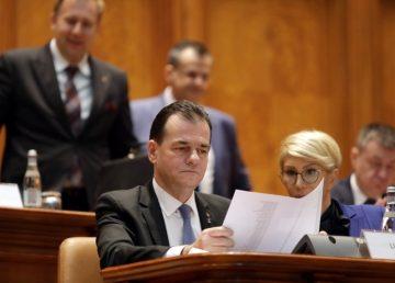 """Cabinetul Orban, în faţa testului moţiunii de cenzură. Stelian Tănase: """"Nu este o critică a Guvernului, ci programul electoral al PSD"""""""