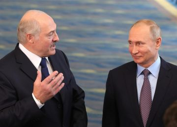 """Putin: """"Belarus este într-o situaţie dificilă, în condiţii de presiuni externe fără precedent"""""""