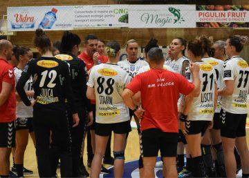 Liga Campionilor la handbal feminin. SCM Râmnicu Vâlcea, învinsă de Odense Handbold, în Grupa B