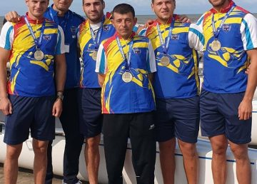 European Coastal Challenge 2020. Medalie de bronz pentru România, în proba de patru vâsle cu cârmaci