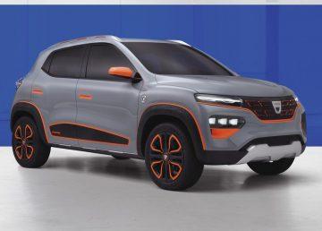 Dacia Spring, primul model electric 100% al gamei. Automobilul va fi prezentat joi la Paris