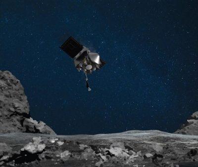 VIDEO. Sonda spațială Osiris-Rex a atins asteroidul Bennu. NASA cercetează compoziția originală a Sistemului Solar