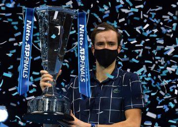 Daniil Medvedev a câștigat în premieră Turneul Campionilor