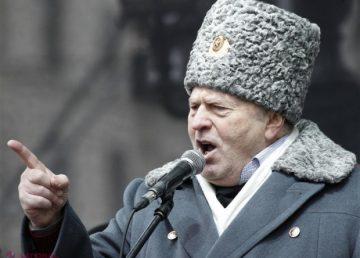 """Cine mai crede în amenințările """"bătrânului arlechin populist"""" Vladimir Jirinovski?"""