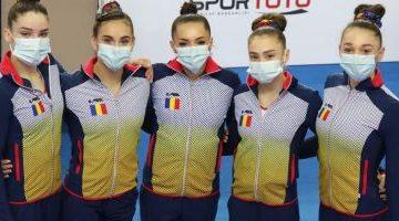 Campionatele Europene de Gimnastică feminină de la Mersin. România, calificată de pe primul loc în finala pe echipe