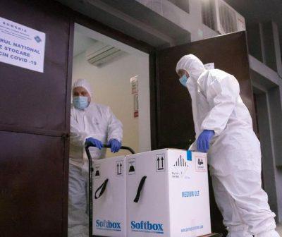 UPDATE. A doua tranșă de vaccinuri anti COVID-19 a ajuns marți în România