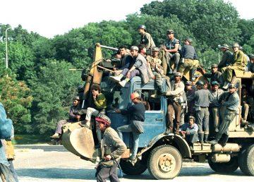 Dosarul Mineriadei din iunie 1990 se întoarce la Parchetul Militar. Toate probele strânse de procurori au fost anulate